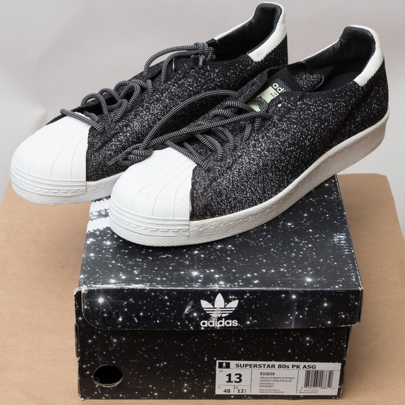 brand new be3a9 d8600 Adidas Superstar 80s PK ASG NWT